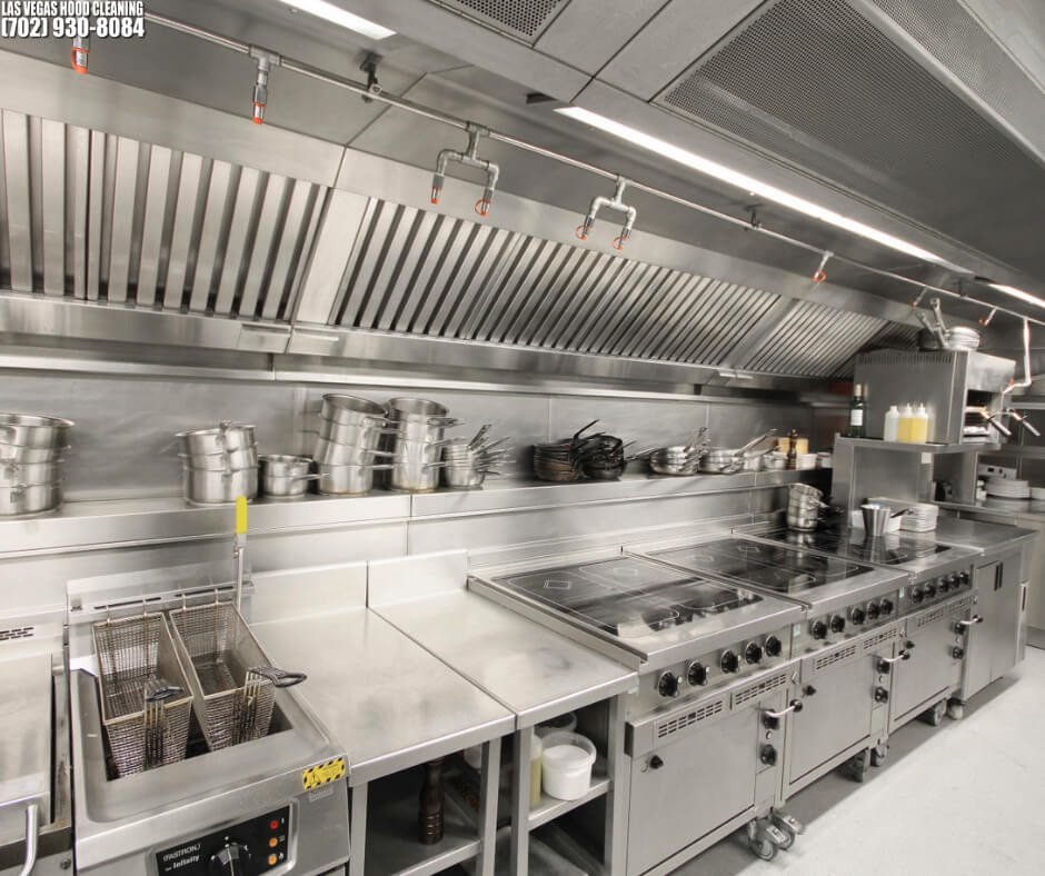 The Cleaning Process Of Commercial Kitchen Hoods